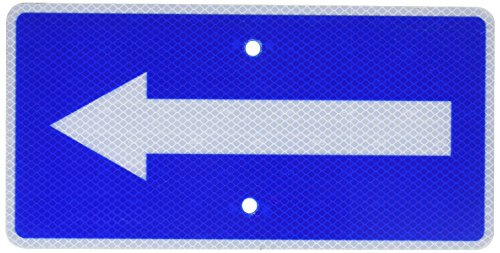 (NMC TMA5J Traffic Sign with Right Arrow Graphic, 6