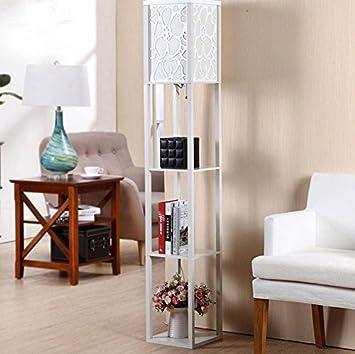 Stehlampe Moderne Wohnzimmer Schlafzimmer Schreibtisch Boden Holzboden  (L26cm W26cm H160cm) Wohnzimmer (Farbe :