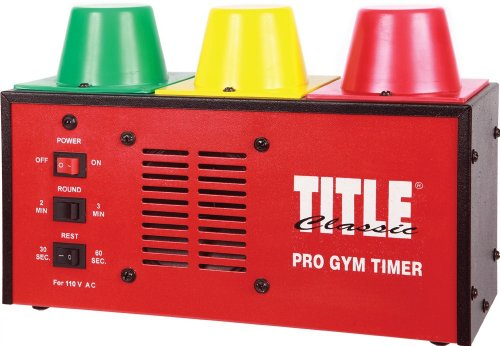 TITLE Classic Gym Timer - Remote Area Lighting System