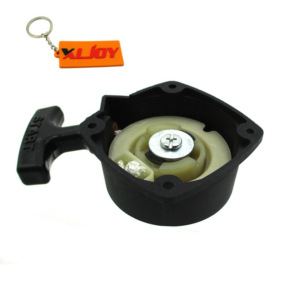 XLJOY Mounting hole center to center 2'' Pull Start Starter For 23CC Zenoah G23LH Engine Goped Sport Bigfoot Liquimatic