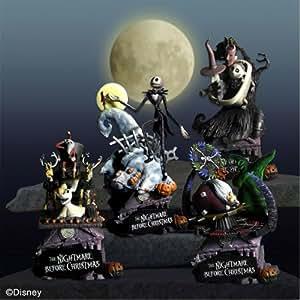 Square Enix - Juego de figuras The Nightmare Before Christmas