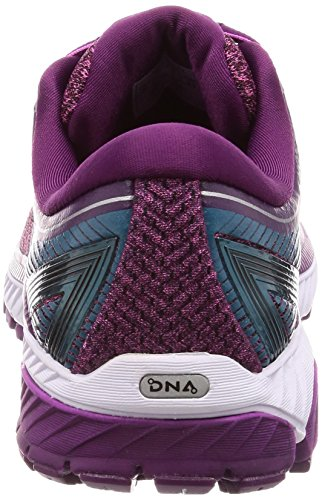 Brooks Damen Ghost 10 Laufschuhe Violett (Purple/pink/teal 1b511)
