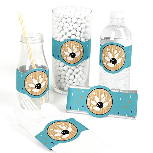 Strike Up the Fun - Bowling - DIY Party Supplies - Birthday Party or Baby Shower DIY Wrapper Favors & Decorations - Set of (Wrapper Favors)