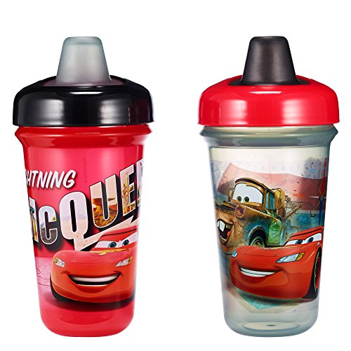 The First Years Disney 2 Piece Baby Stackable Soft Spout Cup, Cars