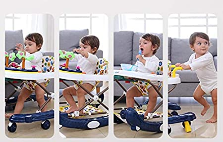 Amazon.com: Baby Trotteur plegable Baby Walker Scooters ...