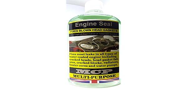 Sellador de juntas de culata permanente sellador,,, MCP,,, Diesel y Gasolina verde Gasket Seal,, MCP: Amazon.es: Coche y moto