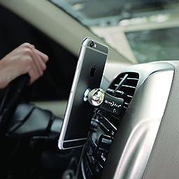 Nite Ize Original Steelie Vent Mount Kit-  Magnetic  Car Vent Mount for Smartphones