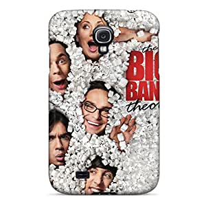 Great Cell-phone Hard Cover For Samsung Galaxy S4 (qGy8783eUYh) Allow Personal Design Nice Big Bang Theory Poster Skin