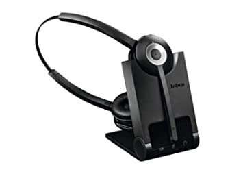 2aa313282e3 Jabra PRO 920 Duo Wireless DECT Headset: Amazon.co.uk: Electronics