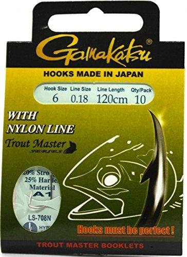 Gamakatsu Trout Master A1 Nylon LS-708N 120cm