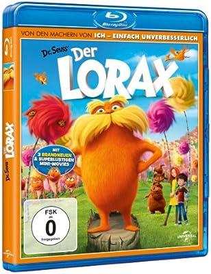 Der Lorax [Alemania] [Blu-ray]: Amazon.es: DeVito, Danny, Helms, Ed, Efron, Zac, Swift, Taylor, White, Betty, Renaud, Chris, Balda, Kyle, DeVito, Danny, Helms, Ed: Cine y Series TV