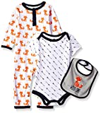 Hudson Baby Unisex Baby Cotton Coverall, Bodysuit