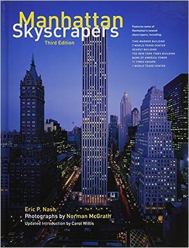 Manhattan Skyscrapers: 3rd Edition: Eric Nash, Norman McGrath