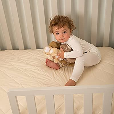 "Kolcraft Pure Sleep Therapeutic 150 Toddler and Baby Crib Mattress - 150 Extra Firm Coils, Hypoallergenic, Breathable Waterproof Cover, Crib Fit Tested, 51.7"" x 27.3"""