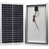 Solar Panel 30 Watt, Powereco 30W Polycrystalline Solar Charger for 12V Battery Charging