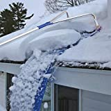 Roof Snow Scraper, Removal Tool for roof Sledge 20 ft with Adjustable Telescopic Handle