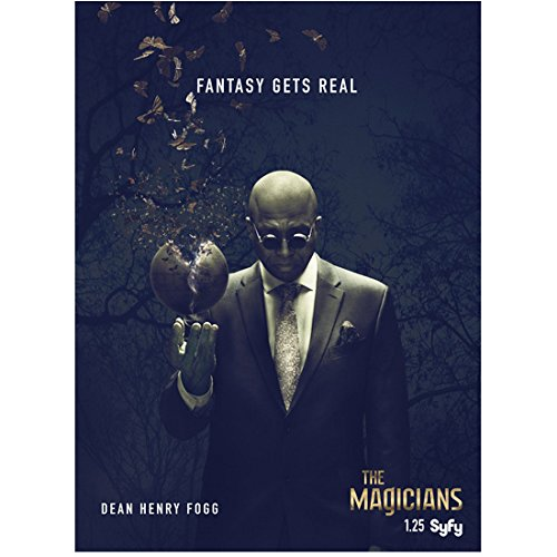 """Rick Worthy 8 inch x 10 inch Photograph The Magicians (TV Series 2015 - ) """"Dean Henry Fogg"""" Interest Poster kn"""
