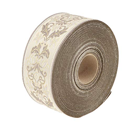 (27 Yards Ethnic Jacquard Trim Embroidery Ribbon Lace Scrapbook Crafts )