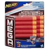 Official Nerf N-Strike Elite Mega Series 10-Dart Refill Pack