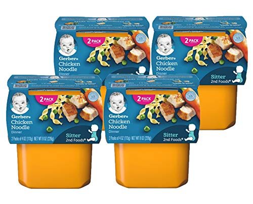 Gerber 2nd Foods Nutritious Dinners (Pack of 4)