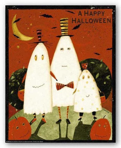 Happy Halloween Ghosts by Dan DiPaolo 10