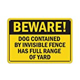 Best custom dog fence - Beware! Dog Contained By Invisible Fence Full Range Review