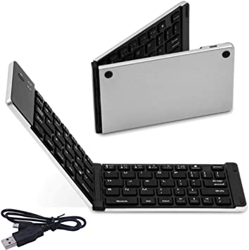 WLWLEO Teclado portátil Universal de la Tableta de Bluetooth ...
