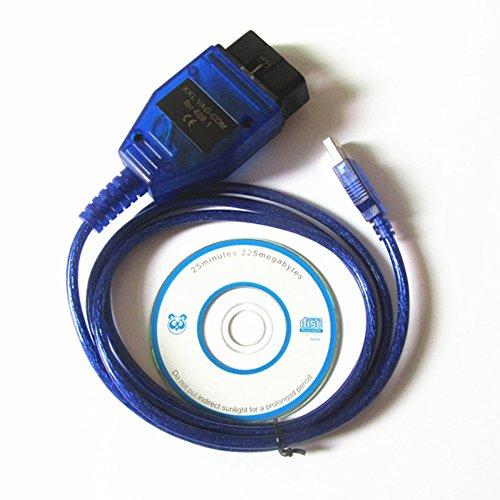 1M Auto Car Diagnostic Scanner Tool ProTocol VAG COM KKL 409.1 OBD2 K-Line KWP2000 ISO9141 USB Cable FOR VW AUDI SKODA