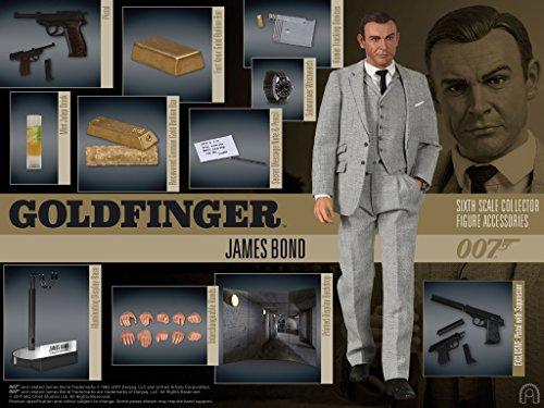 1 6 Scale Figures (James Bond Goldfinger James Bond 1:6 Scale Action Figure)
