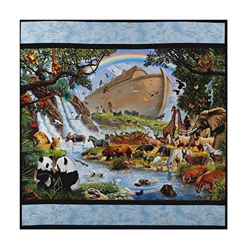 Noah's Ark Fabric (Robert Kaufman Kaufman Inner Faith 35
