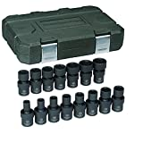 "GearWrench 84918N 3/8"" Drive Metric Universal Impact Socket Set (15 Piece)"