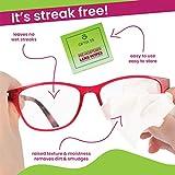 Eyeglass Cleaner Lens Wipes - 100 Pre-Moistened