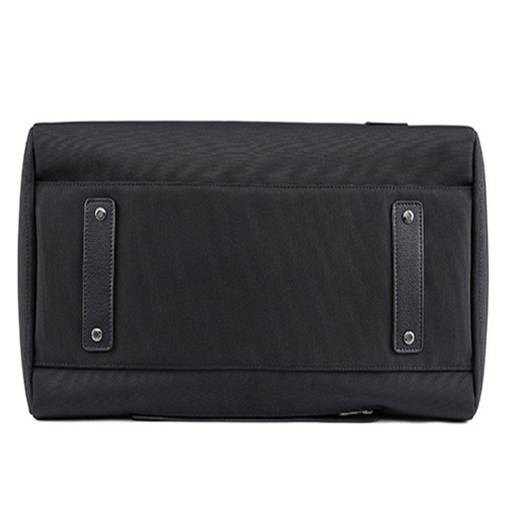 21, black duffel Luggage Bag Water-Resistant Many Pockets duffel bag leather material duffel tote bag 45L Travel Duffel