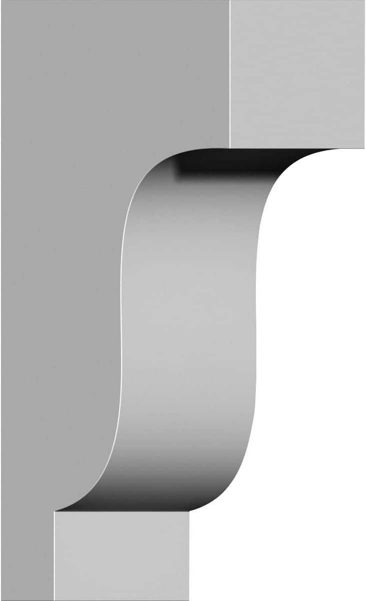 Ekena Millwork COR03X06X10TSMA-CASE-6 Corbel Factory Primed