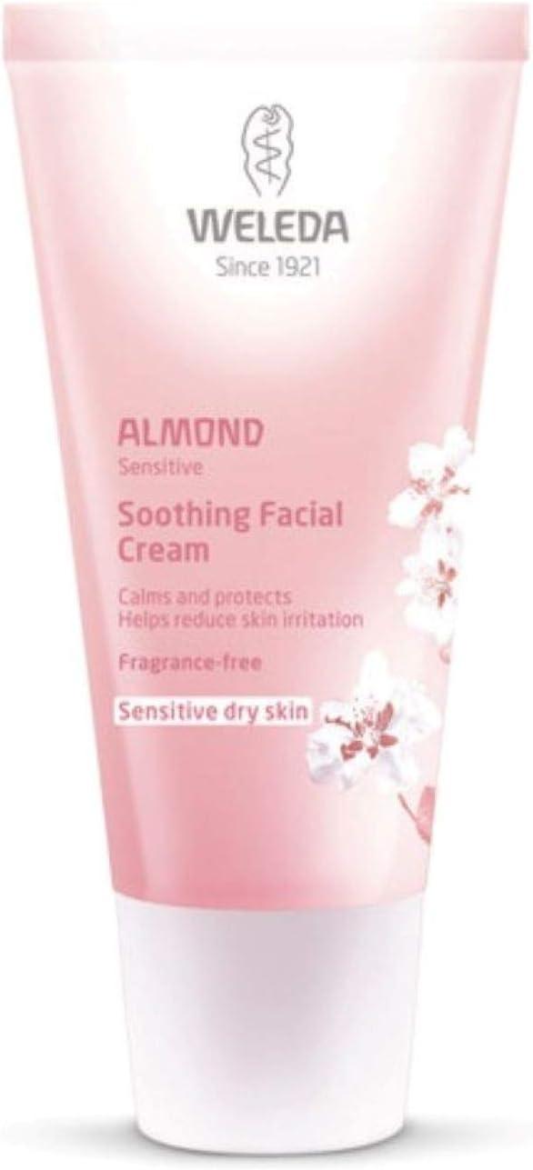 weleda almond cream