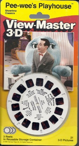 Pee-Wee's Playhouse 3D View-Master 3 Reel Set by View Master (Image #2)
