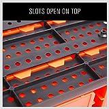SEDY 30 Bins Wall Mounted Storage Bins Parts