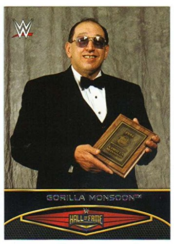 2015 Topps WWE Road to Wrestlemania Hall of Fame #3 Gorilla Monsoon NM to Mint or Better