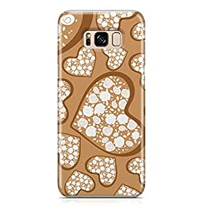 Samsung S8 Plus Case Love Pattern Gift For Girls Durable Metal Inforced Light Weight Samsung S8 Plus Cover Wrap Around 126