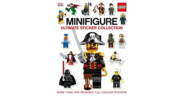 Amazon.com: Lego Minifigure Ultimate Sticker Collection ...