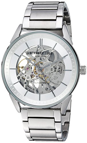 Kenneth Cole New York Men's Automatic Stainless Steel Casual Watch, Color:Silver-Toned (Model: KC50192006)