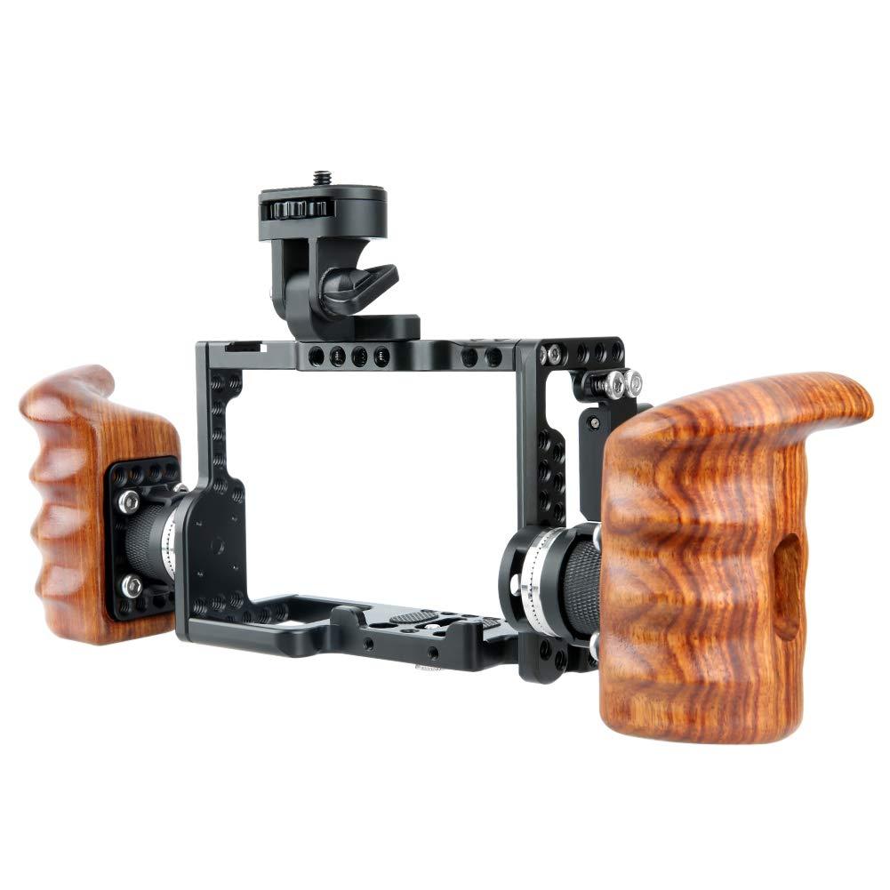 NICEYRIG Kit de Jaula Cage para cámara con Soporte Arri ...