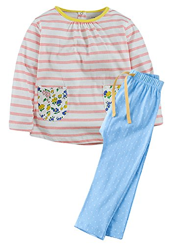 Fiream Girls Autumn Cute Print Long Sleeve Clothing Set(20061TZ,4T)