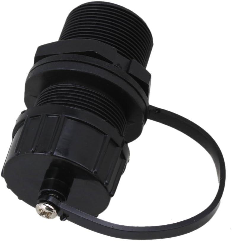CNBTR M20 Ethernet LAN Waterproof Nylon RJ45 Jack to Jack Female Thread Outdoor Connector Set of 10