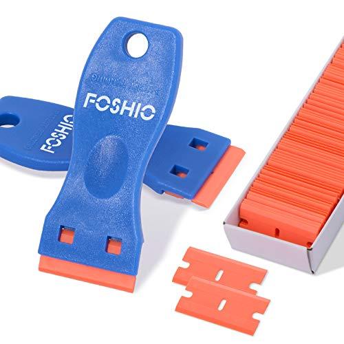 FOSHIO 2PCS Plastic Razor