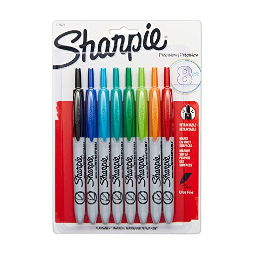 sharpie-retractable-permanent-markers-ultra-fine-point-assorted-colors-8-count
