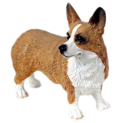 WELSH CORGI Dog Pembroke Stands NEW Resin FIGURINE DF51A ()