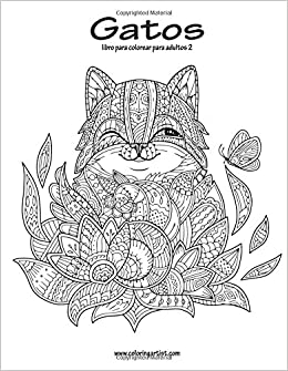 Amazon.com: Gatos libro para colorear para adultos 2 (Volume 2) (Spanish Edition) (9781539692676): Nick Snels: Books