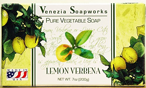Venezia Soapworks Moisturizing Soap Lemon Verbena by Sugar Plum and Jonathan