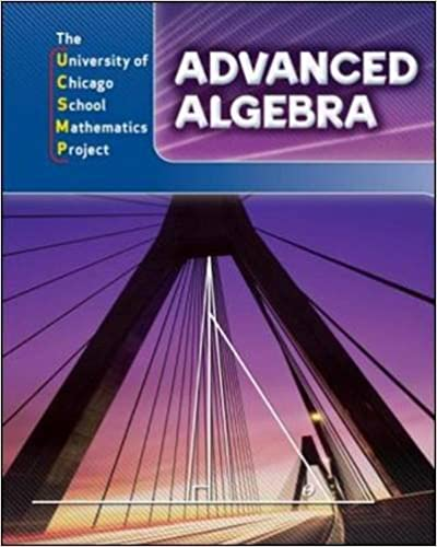 Advanced Algebra Book